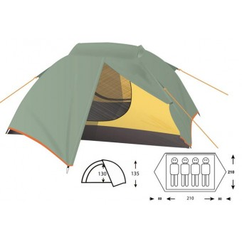 Туристическая палатка Outdoor Project Orion 4 Fg